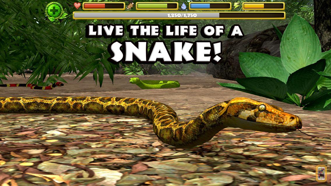 Screenshot - Snake Simulator