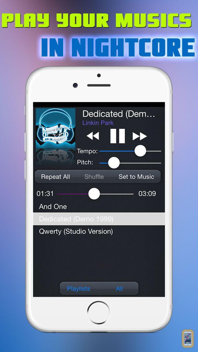 Screenshot - Nightcore Music Player