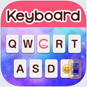 Customized skin+Emoji CocoPPa Keyboard by UNITED, Inc. (iPhone)