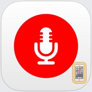 My Rec - Audio Recorder by Raffaele Di Marzo (Universal)