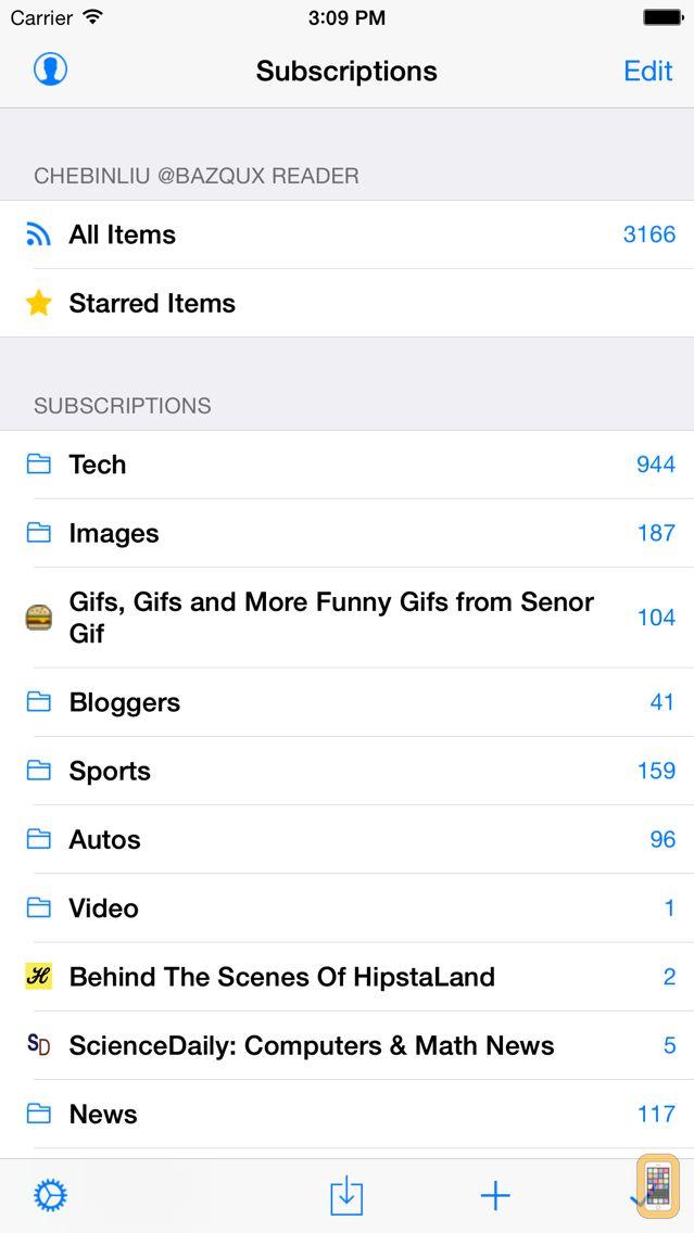Screenshot - Feeddler RSS Reader Pro 2