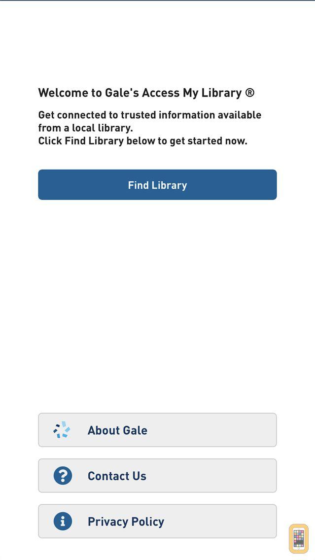 Screenshot - Access My Library®