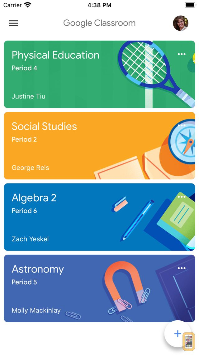 Screenshot - Google Classroom