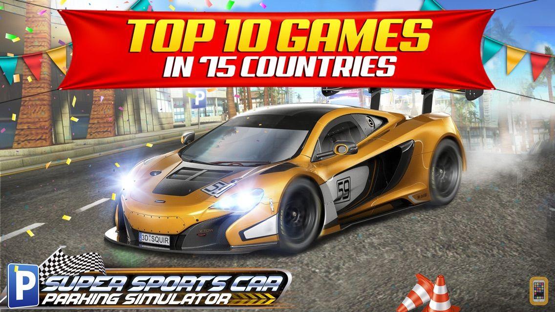 Screenshot - Super Sports Car Parking Simulator - Real Driving Test Sim Racing Games