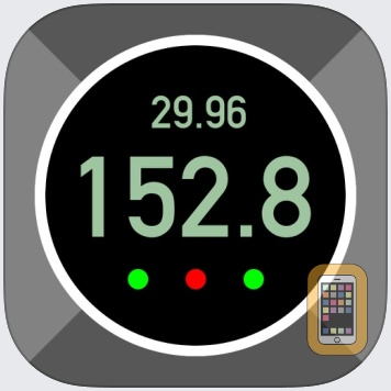 Pro Altimeter - Barometric Altimeter with Manual/GPS/METAR Calibration by Hunter Research and Technology, LLC (Universal)