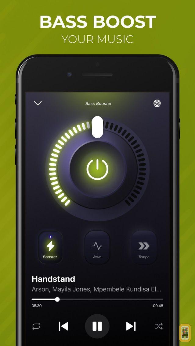 Screenshot - Bass Booster Volume Power Amp