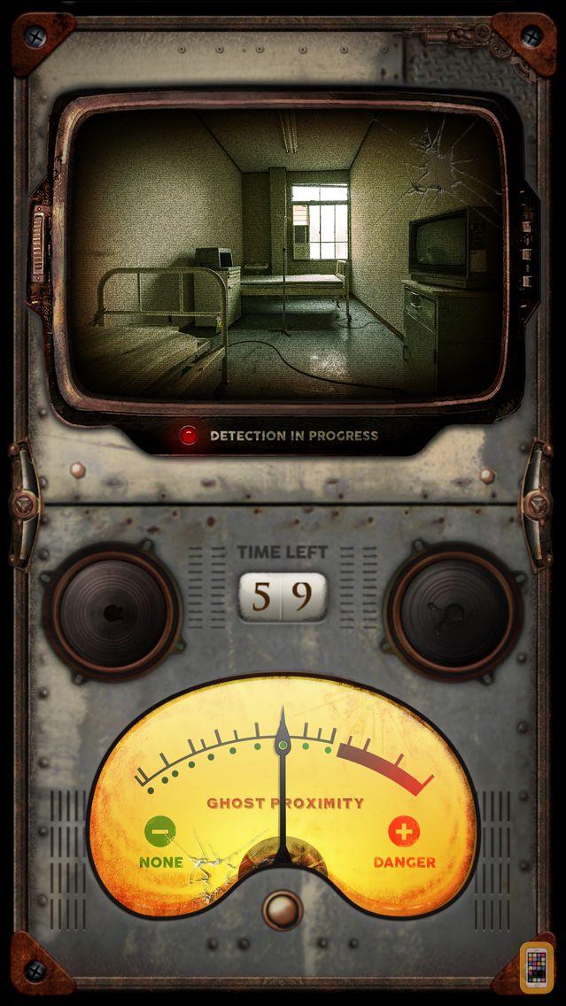 Screenshot - Ghost Detector Camera - scary paranormal activity sensor & spirit detector radar tool
