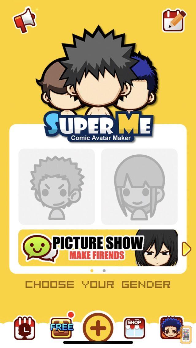Screenshot - SuperMii—Make comic and cartoon avatar