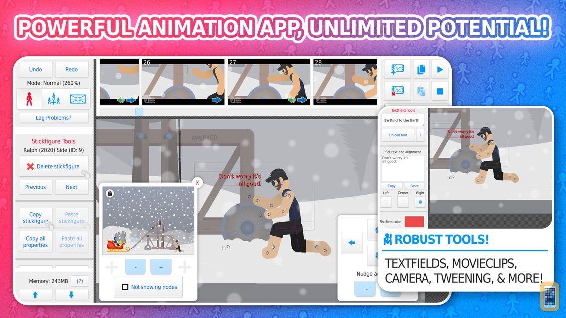 Screenshot - Stick Nodes Pro - Animator
