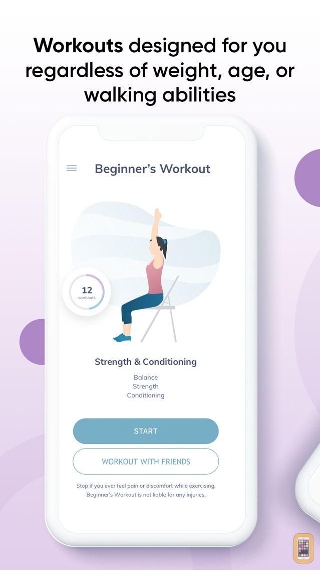 Screenshot - 20 Minute Beginners Workout Free by Power 20