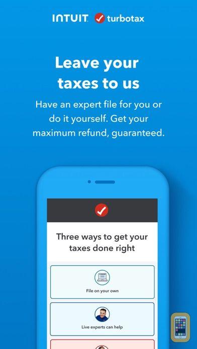 Screenshot - TurboTax Tax Return App