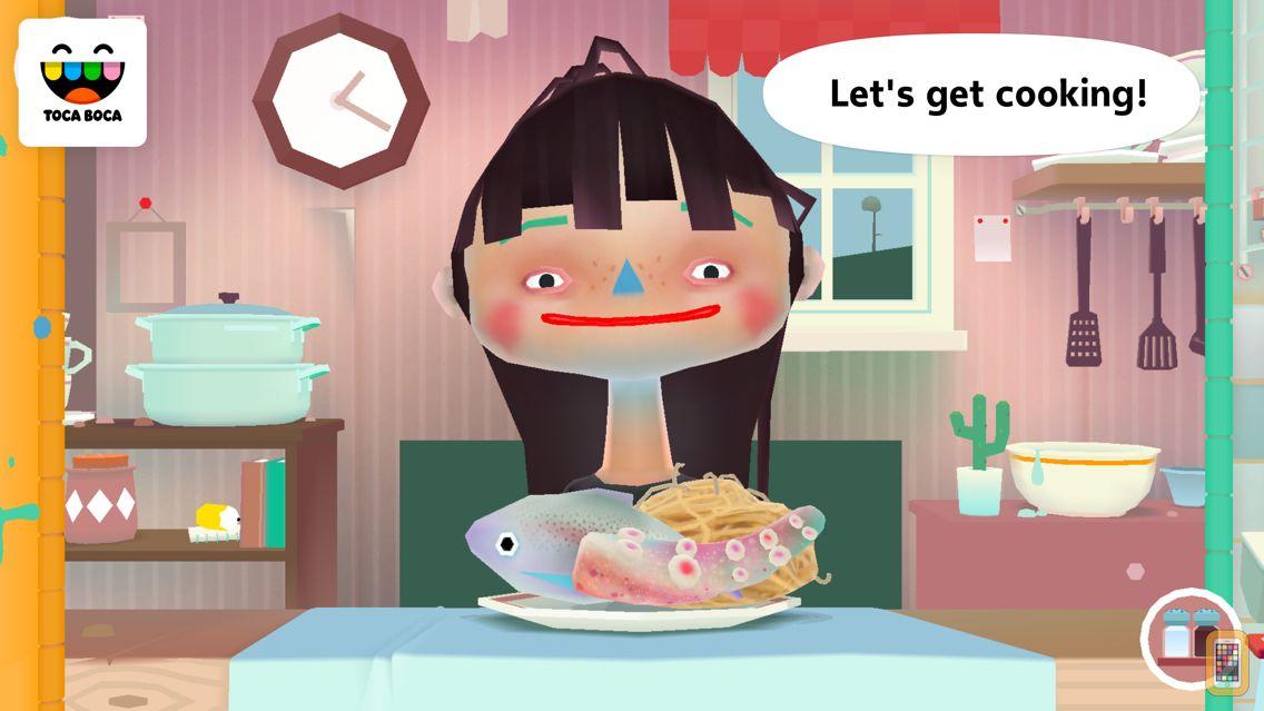 Screenshot - Toca Kitchen 2