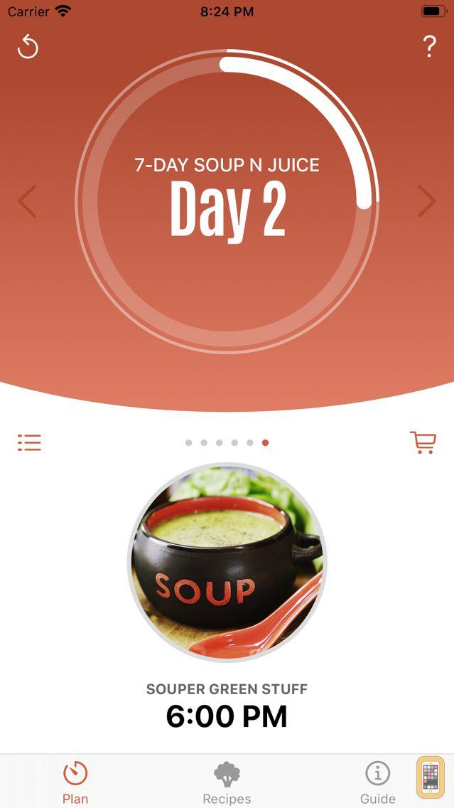Screenshot - Jason's Soup + Juice Challenge
