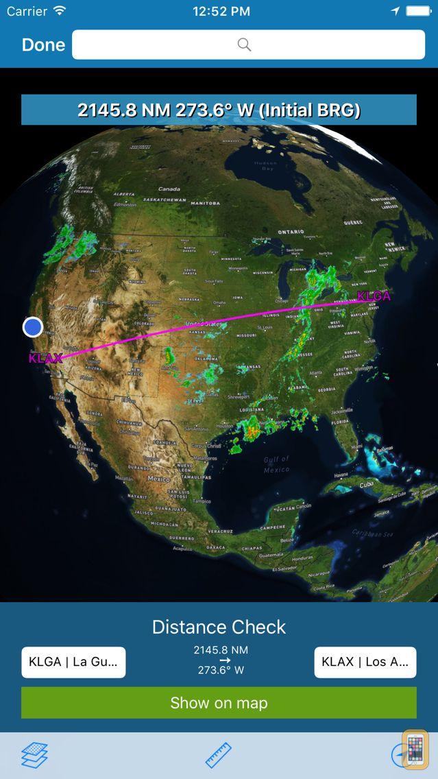 Screenshot - AeroPointer - Airport Data