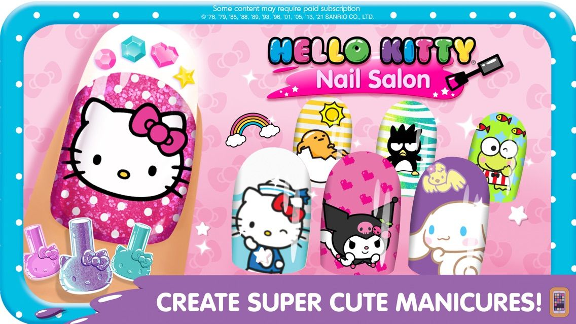 Screenshot - Hello Kitty Nail Salon