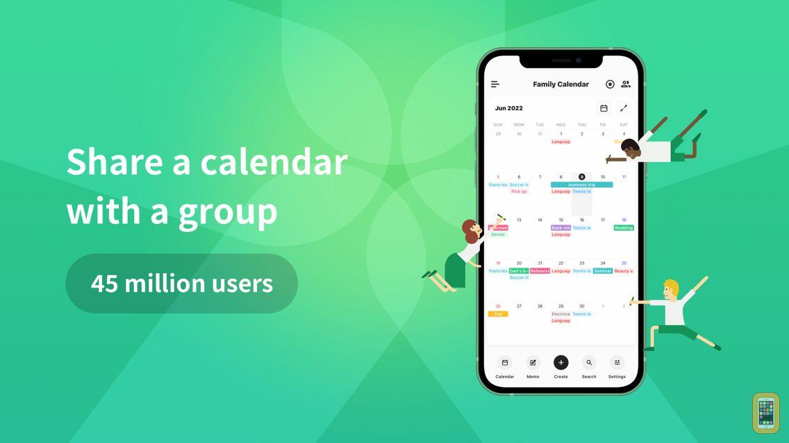Screenshot - TimeTree: Shared Calendar