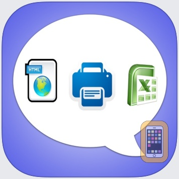 Export Messages - Save Print Backup Recover Text SMS iMessages by SOWJANYA ALLA (iPhone)