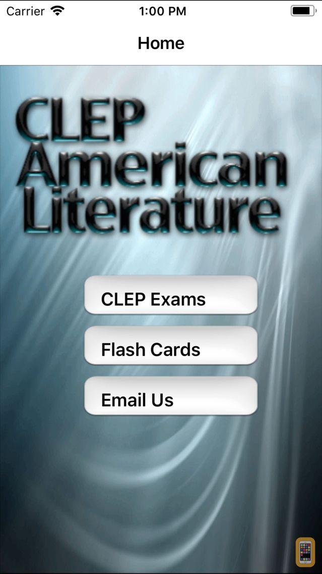 Screenshot - CLEP American Literature Prep
