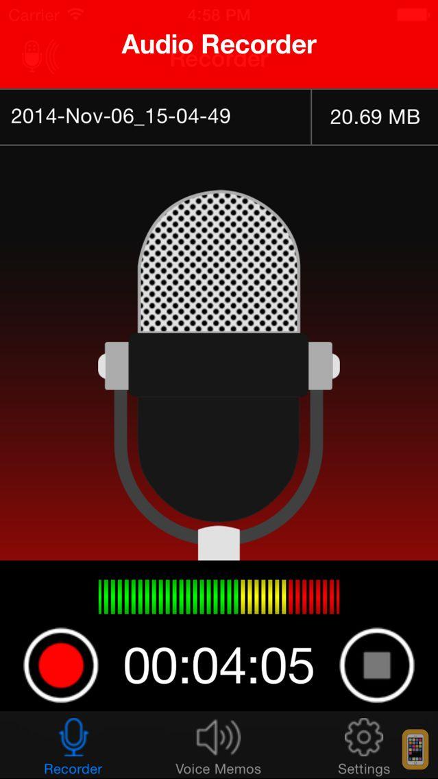 Screenshot - Voice Recorder Lite: Record HD