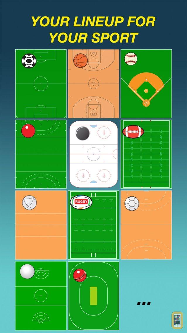 Screenshot - Team Lineup PRO