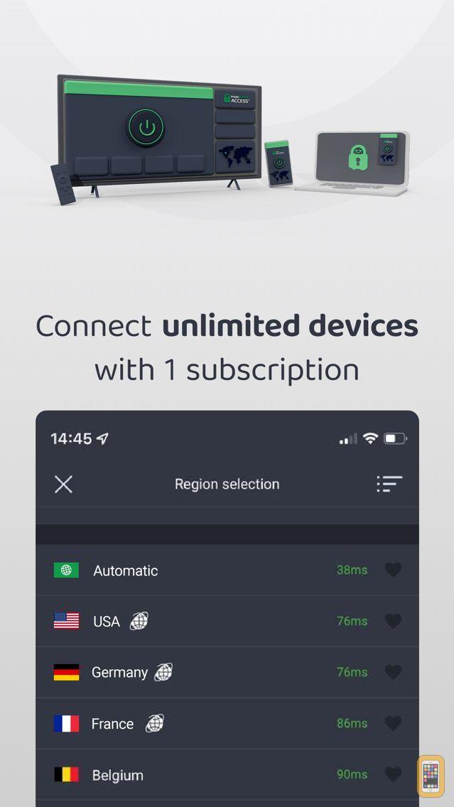 Screenshot - VPN by Private Internet Access