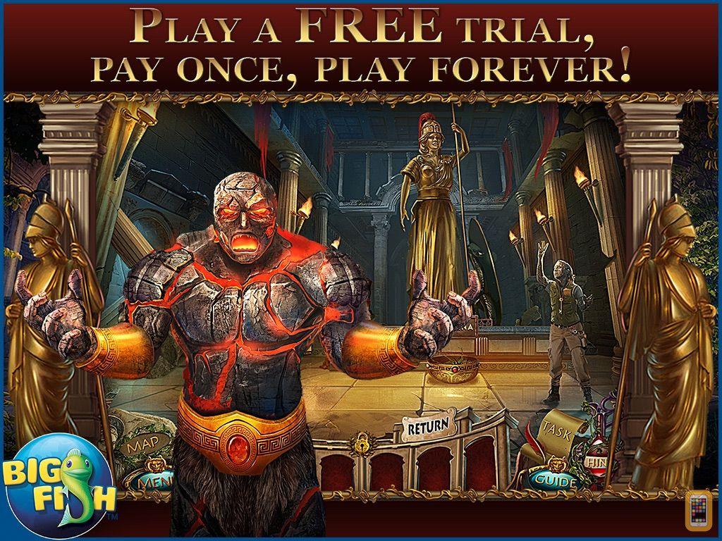 Screenshot - Revived Legends: Titan's Revenge HD - An Epic Hidden Object Adventure