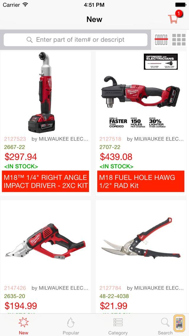 Screenshot - Lee's Tools for Milwaukee Electric