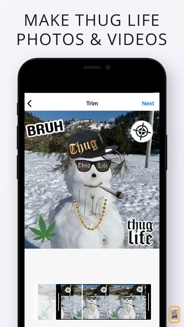 Screenshot - Thug Life Maker - Create Funny Videos & Photos