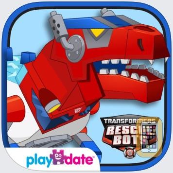 Transformers Rescue Bots: Dino Island by PlayDate Digital (Universal)