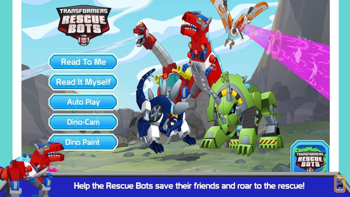 Screenshot - Transformers Rescue Bots: Dino Island