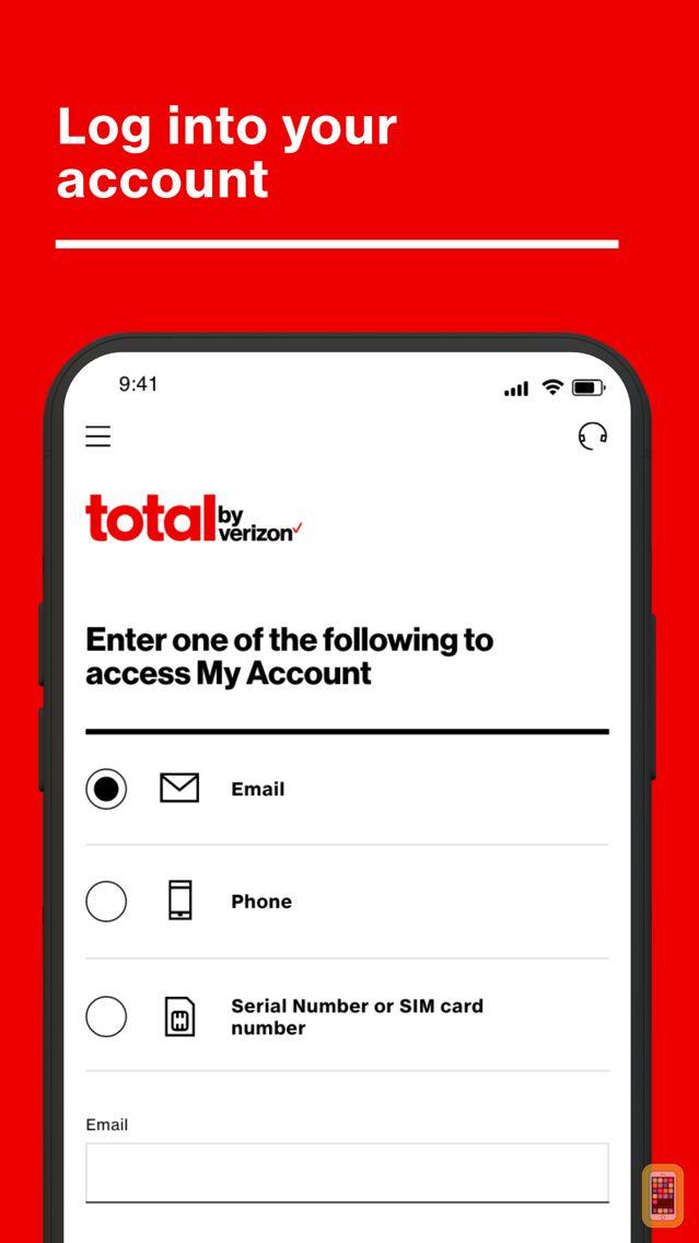 Screenshot - Total Wireless My Account