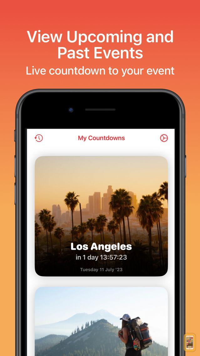 Screenshot - Countdown - Upcoming Events