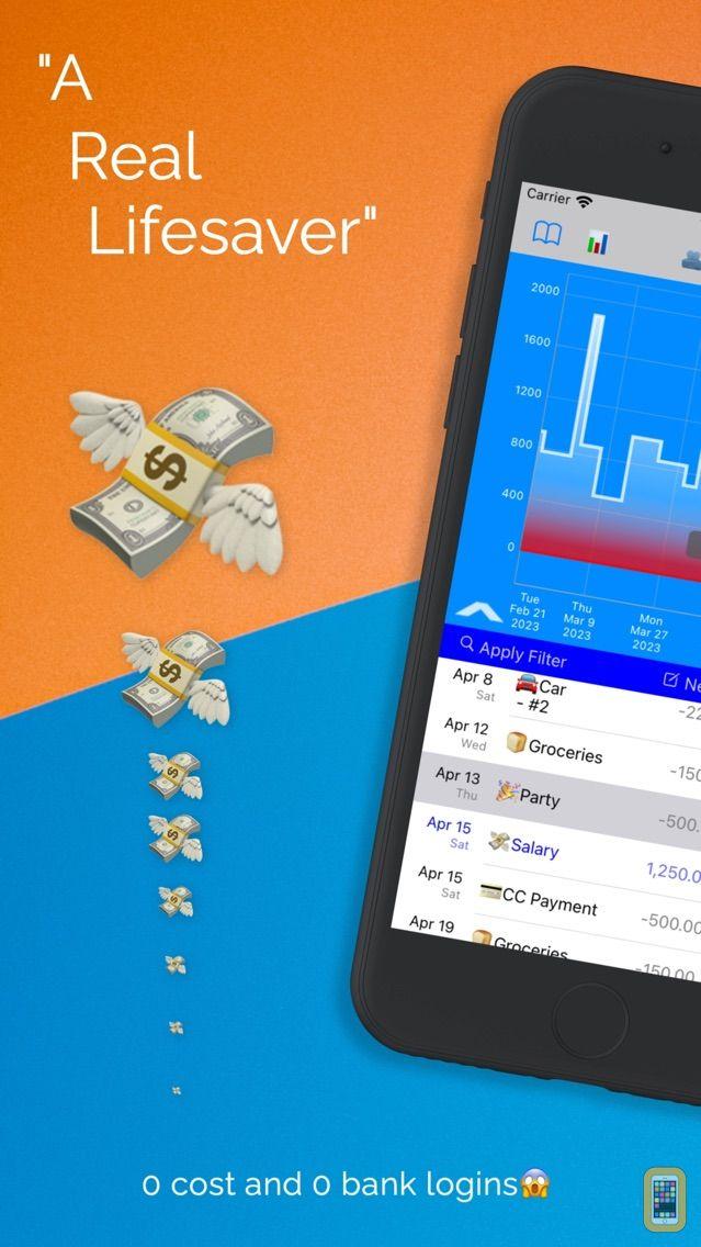 Screenshot - CostLog Cashflows