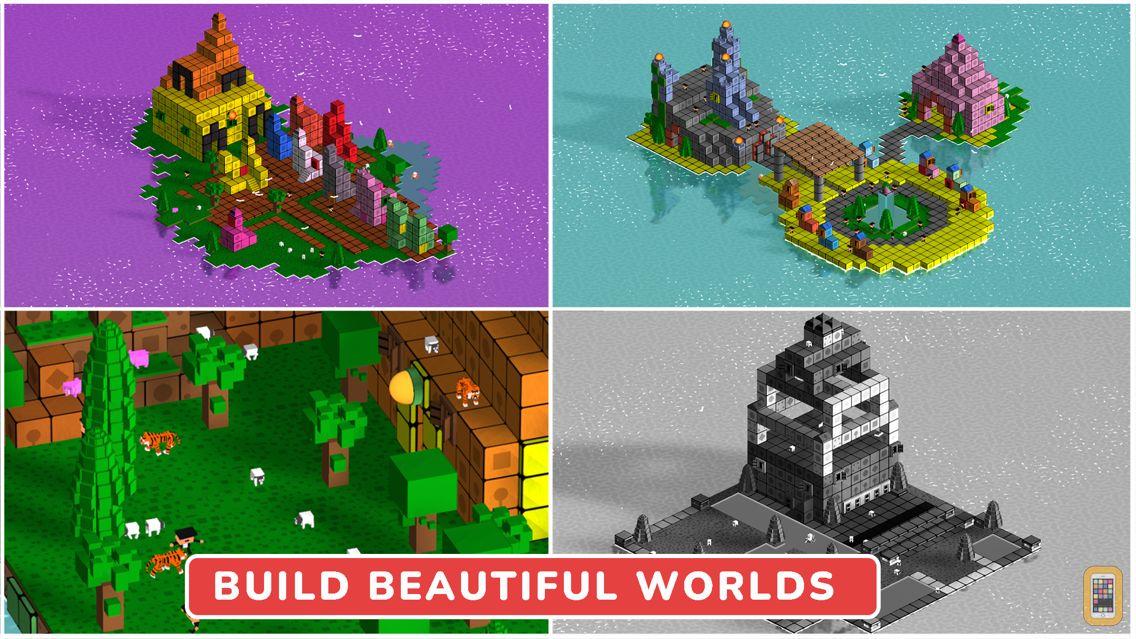 Blox 3D World Creator for iPhone & iPad - App Info & Stats