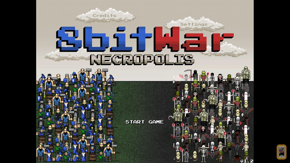 Screenshot - 8bitWar: Necropolis