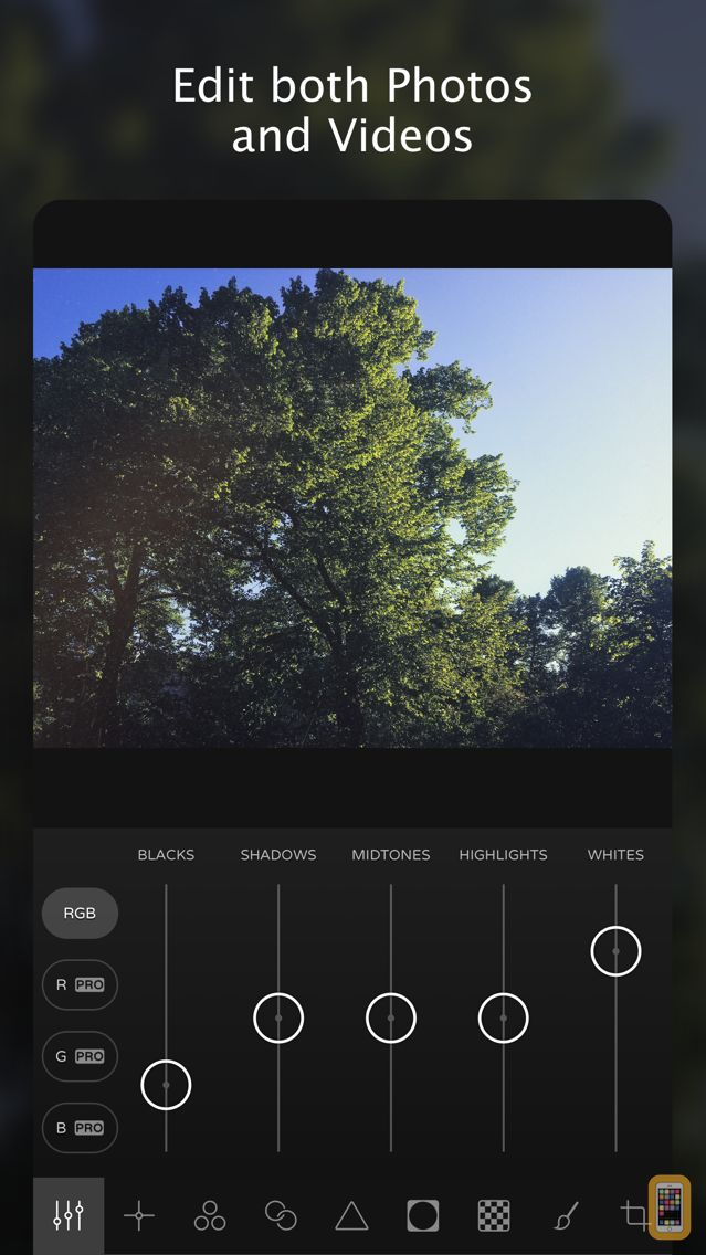 Screenshot - Ultralight - Photo Editor