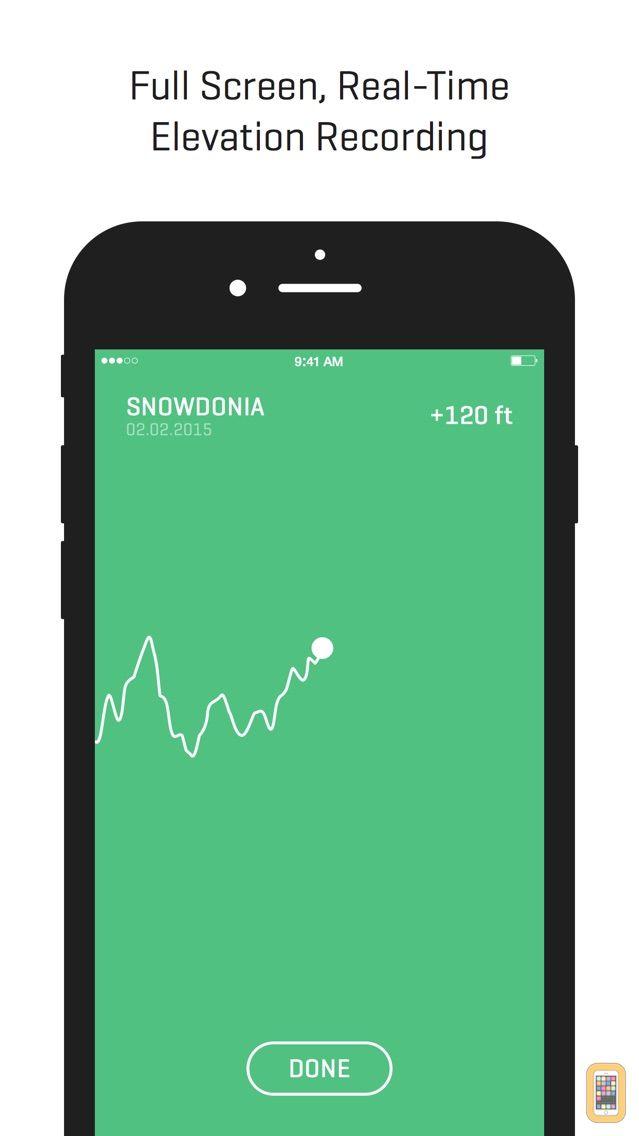 Screenshot - Ella - GPS Elevation Tracker