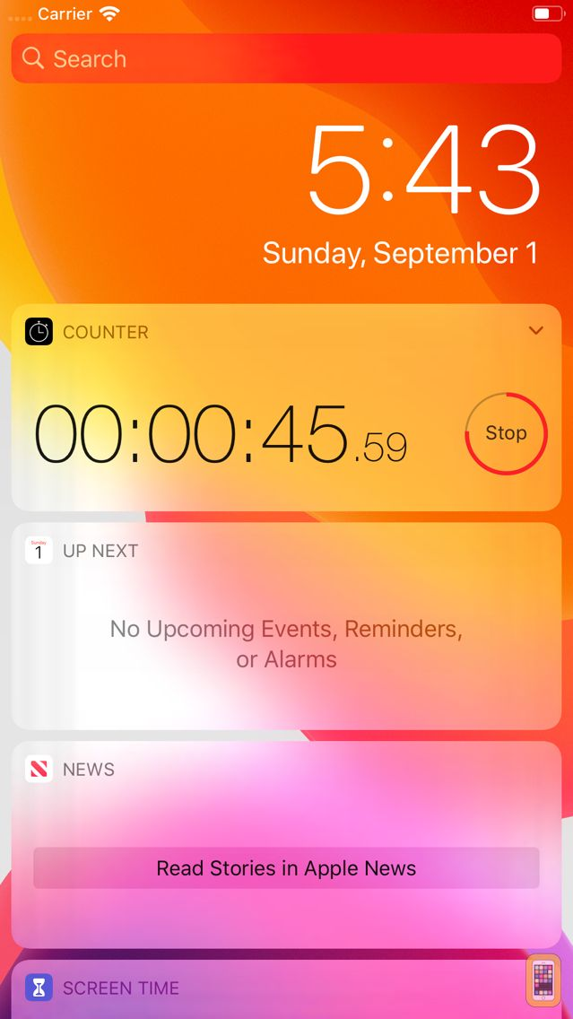 Screenshot - Counter: Stopwatch and Timer