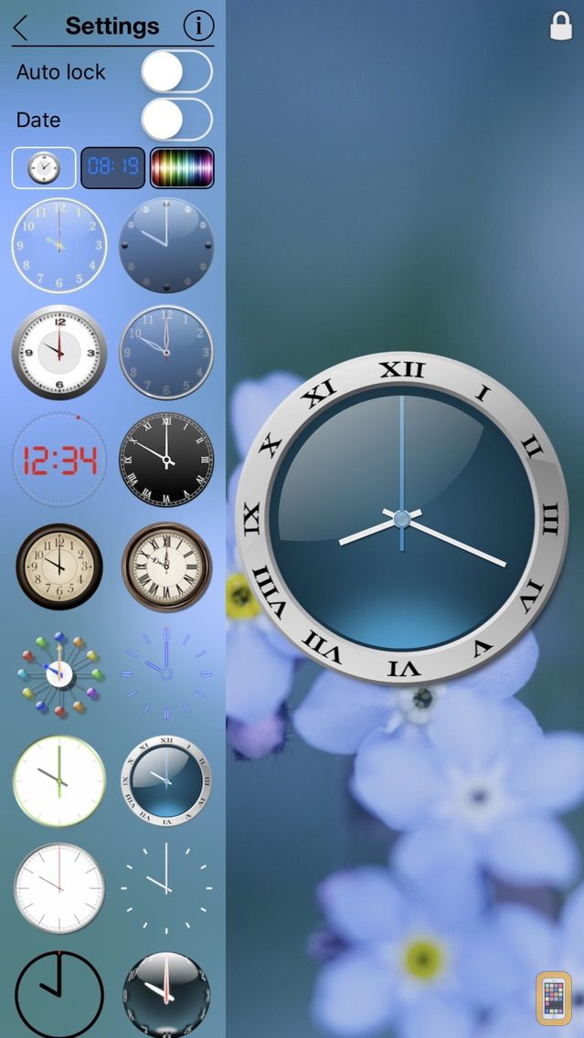Screenshot - My Own Clock