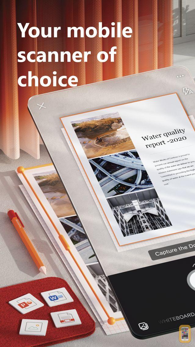 Screenshot - Microsoft Office Lens|PDF Scan