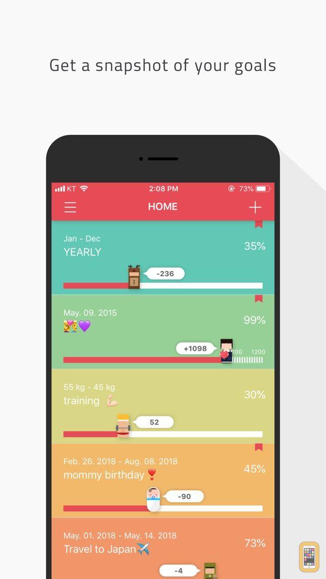 Screenshot - AT - Time Progress Widget(Countdown, Reminders)