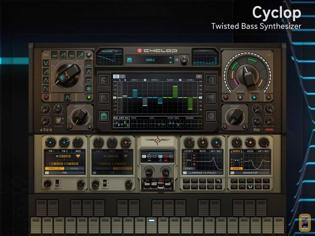 Screenshot - Cyclop for iPad