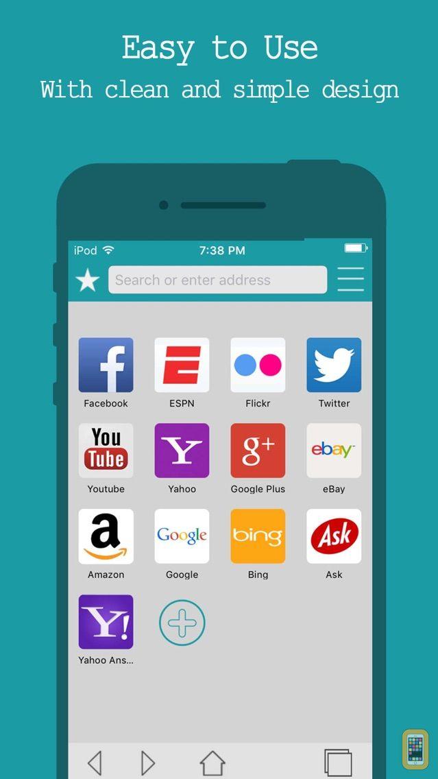 Screenshot - Best Internet Browser - Secure Web Browsing