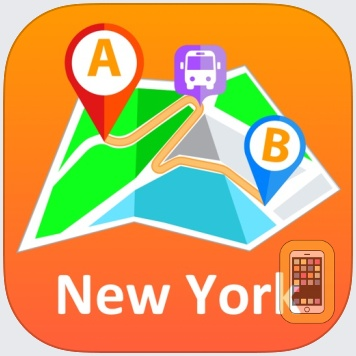 New York City - offline map by Andrii Zborovskyi (Universal)