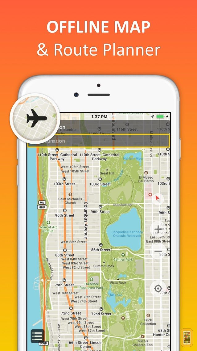 Screenshot - New York City - offline map