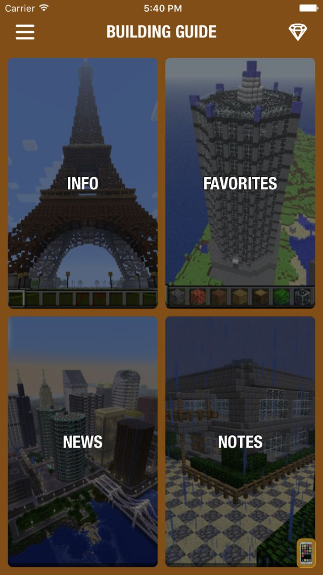 Screenshot - Building Guide for Minecraft - Houses and Home Building Tips!