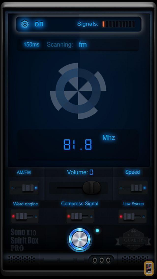 Screenshot - Sono X10 Spirit Box PRO