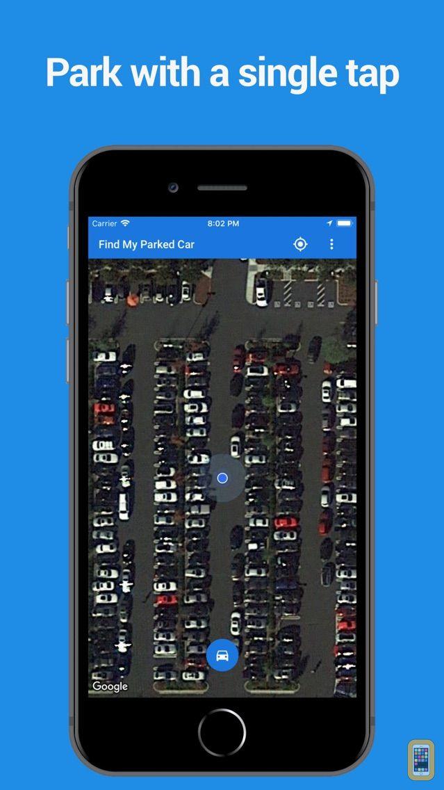 Screenshot - Find My Parked Car