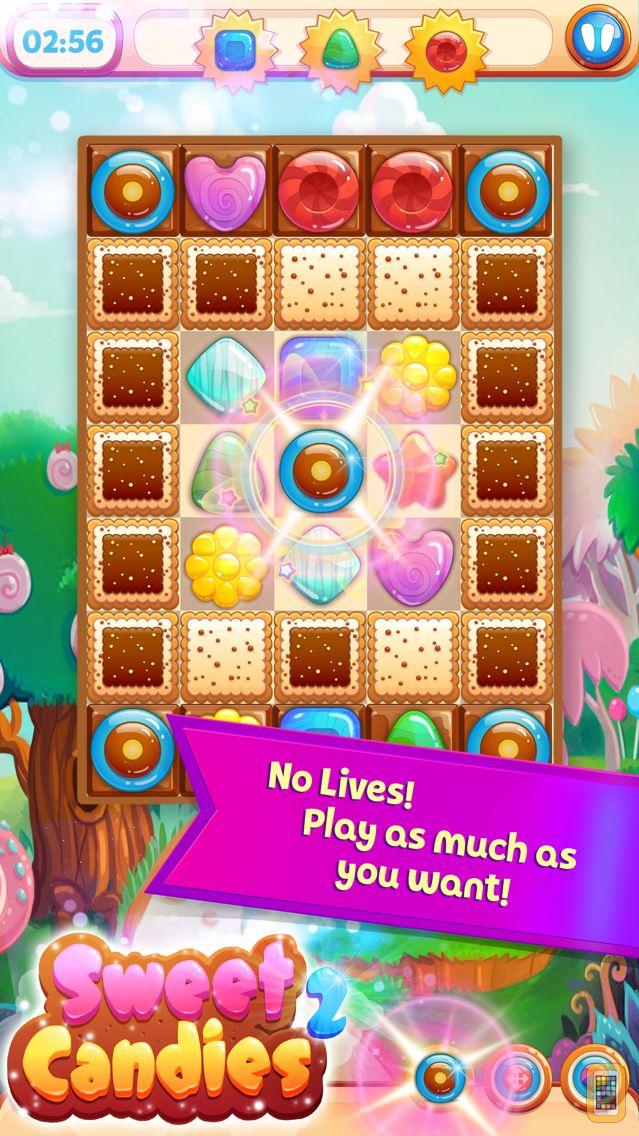 Screenshot - Sweet Candies 2 - Cookie Crush Craze