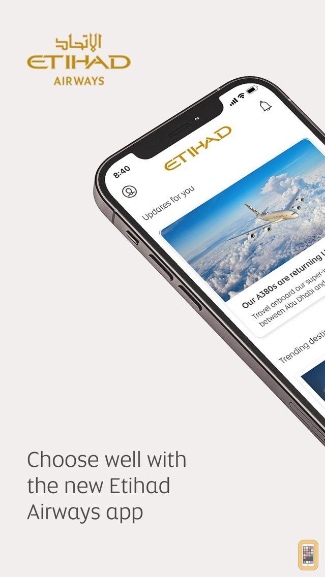 Screenshot - Etihad Airways